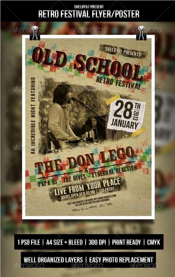 Retro Festival Flyer / Poster