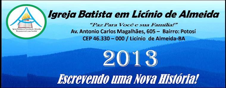 IGREJA BATISTA EM LICINHO DE ALMEIDA