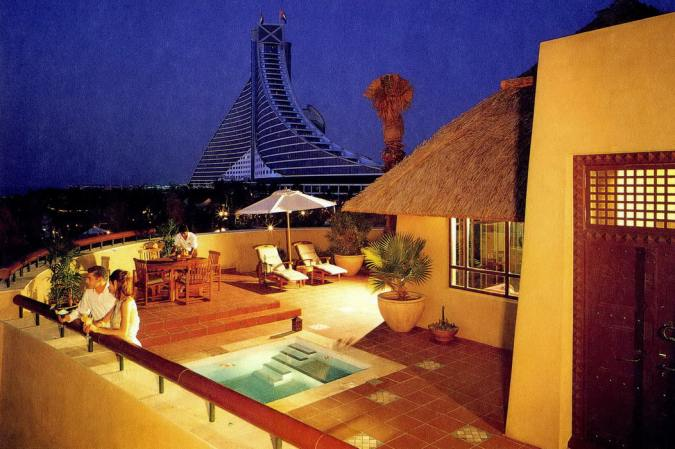 Beit al bahar beach villas dubai hotels in dubai best for Top rated hotels in dubai