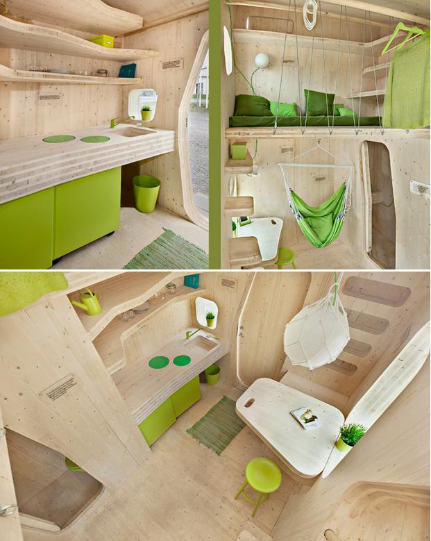 Arquitectura creativa, casa de 10m2