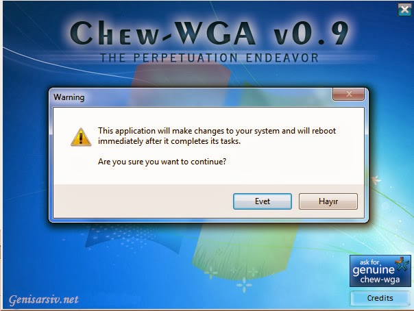 crack windows 7 cw
