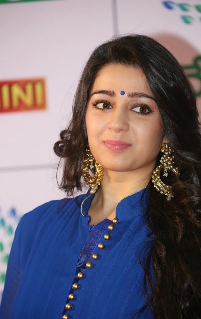 Charmi Kaur at Mumu Saitam Dinner With Stars Red Carpet