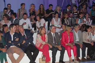 Front Row Desfile Custo Barcelona en 080 Barcelona Fashion Julio 2013