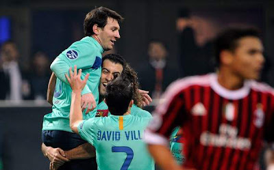 AC Milan 2 - 3 Barcelona (3)