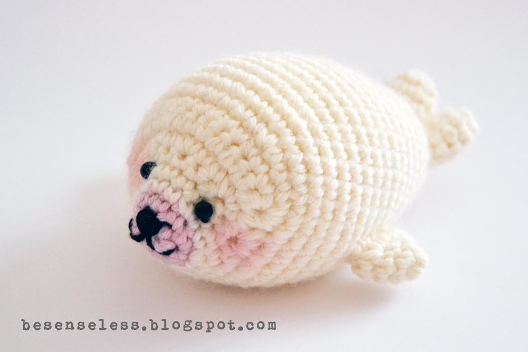 Crochet Amigurumi Seal : Ritorna la lana Airali