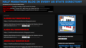 HALF MARATHON US BLOG DIRECTORY FOR EVERY STATE
