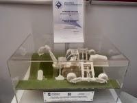 Jeden z modeli na 7. Międzynarodowej Warszawskiej Wystawie Wynalazków