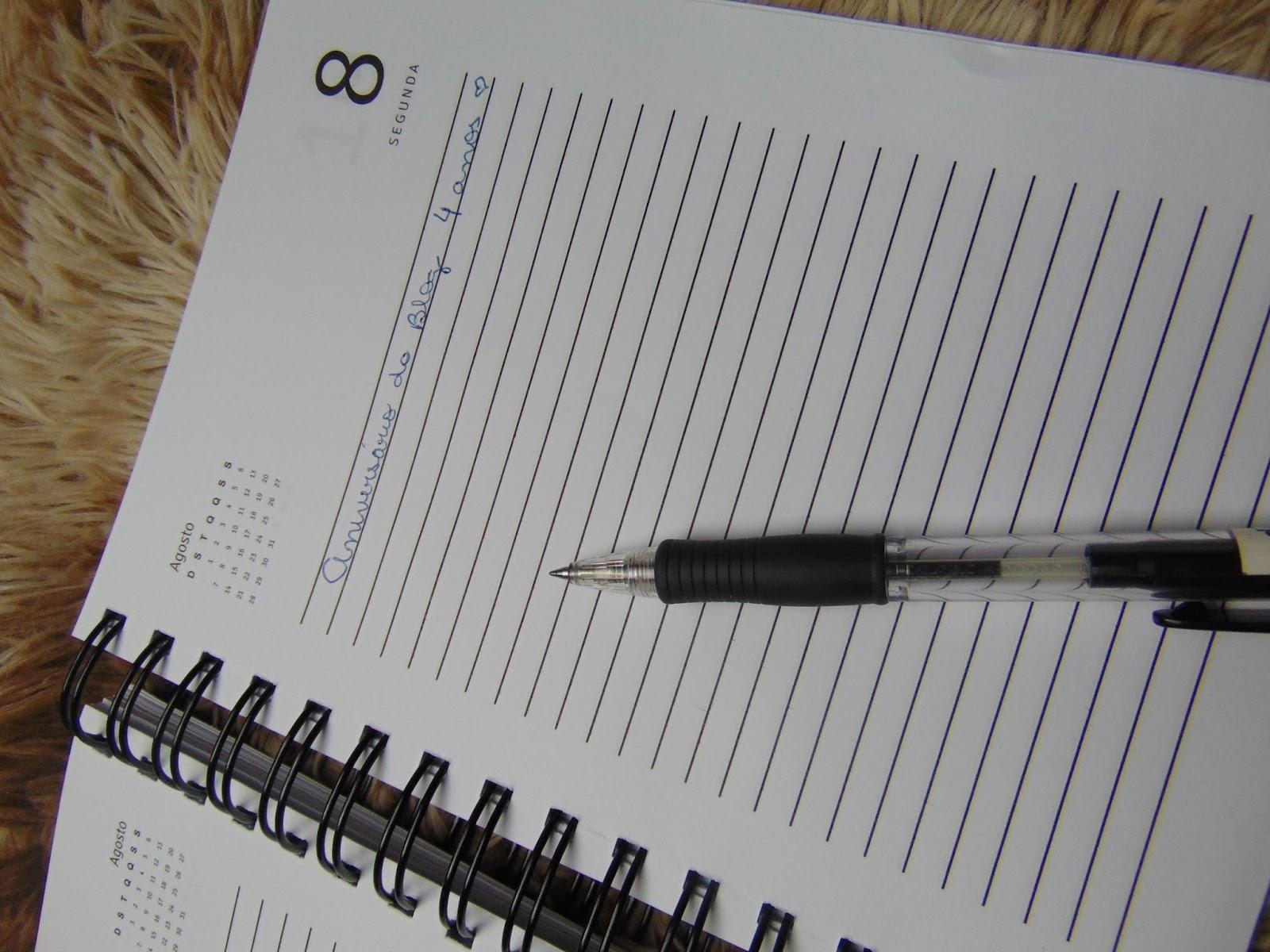 Agenda Personalizada Feminina - Blog
