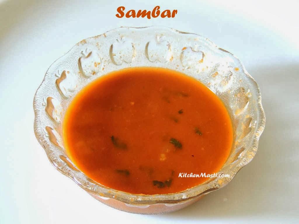 sambar hotel style