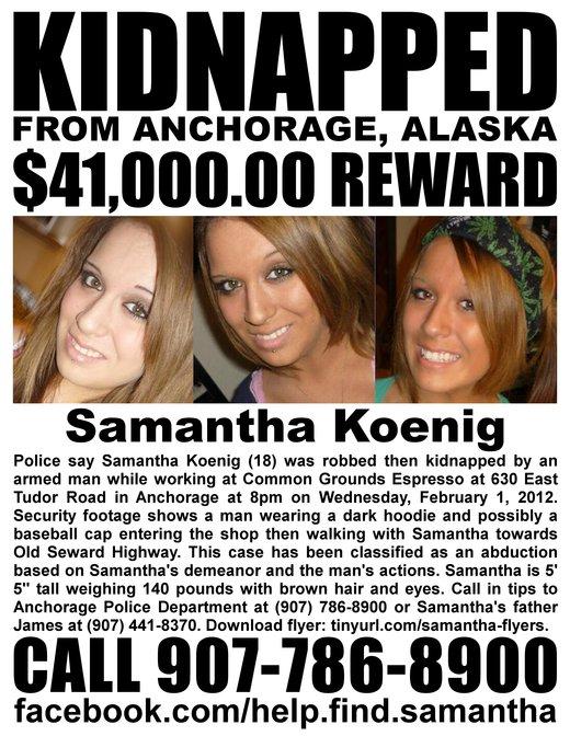 Help Find Samantha Koenig