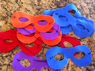 TMNT Party masks
