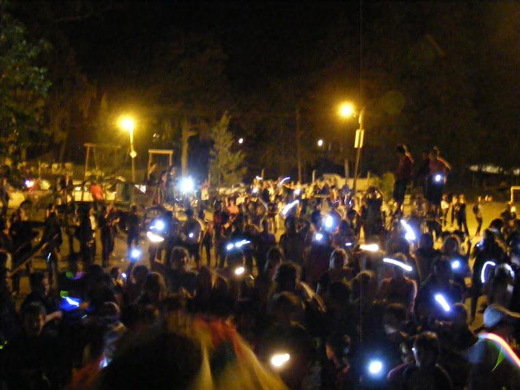 CAMINATA DE LAS LUCIÉRNAGAS 2012