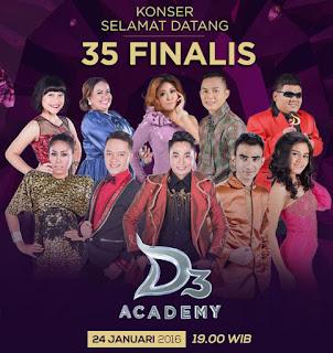 konser 35 besar d academy 3