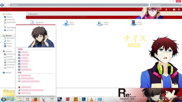 [Theme Win 7] Re:␣Hamatora – Nice by Eldiaz7 4