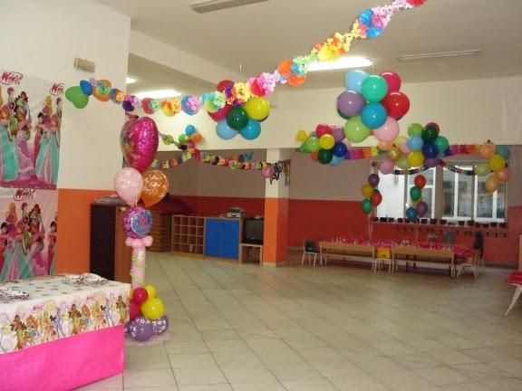 Sala per feste bambini a pozzuoli for Addobbi per feste