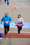 Finishing TC Marathon - 10 Mile Race