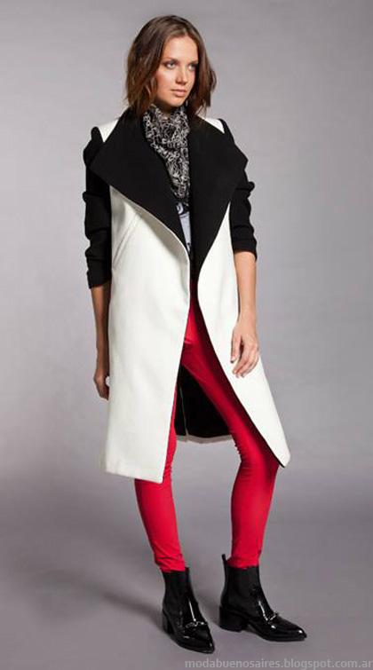 Abrigos 2014 moda.