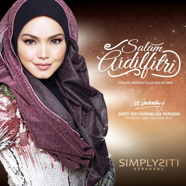 Lagu Raya Siti Nurhaliza (Baru!)