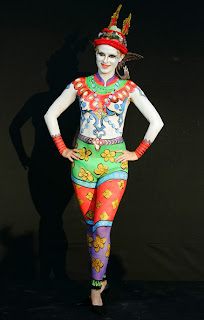 Women Body Painting Festival