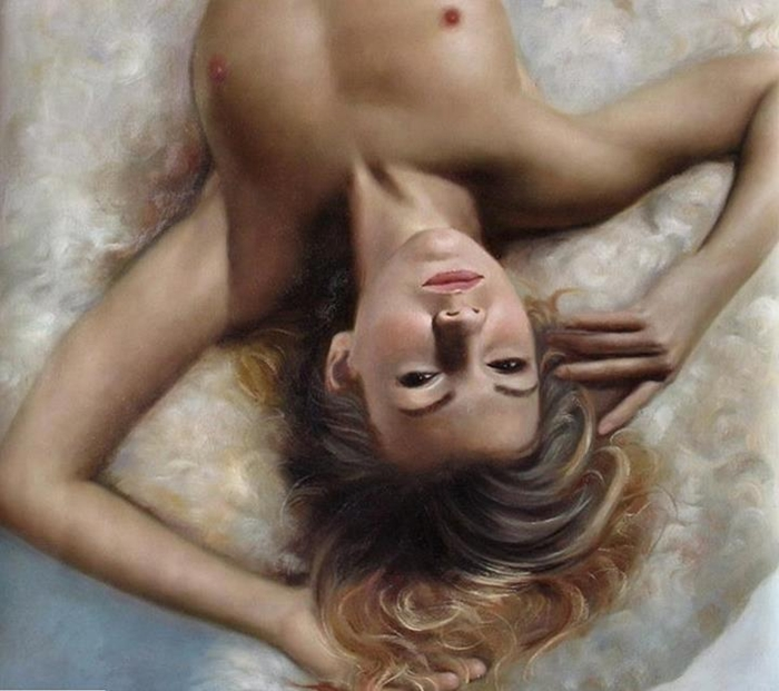 Kiéra Malone   French Realistic Figurative painter   Suggestions