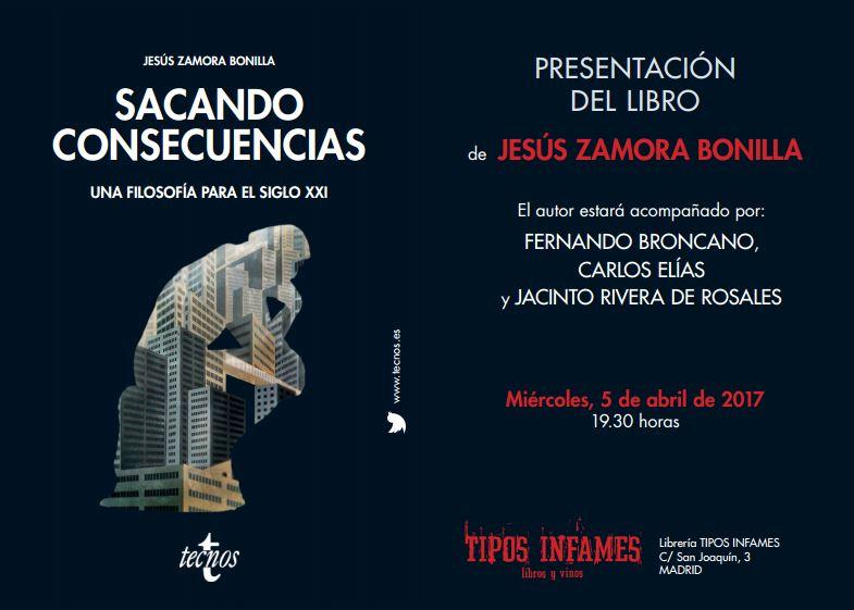 """Presentación del libro """"Sacando Consecuencias"""""""
