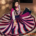 Indian Anarkali Umbrella Frocks-Anarkali Fancy Winter Frock new Latest Fashion Dress 2013