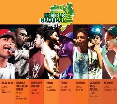 Belo Horizonte cedia grande final do encontro nacional de MCs