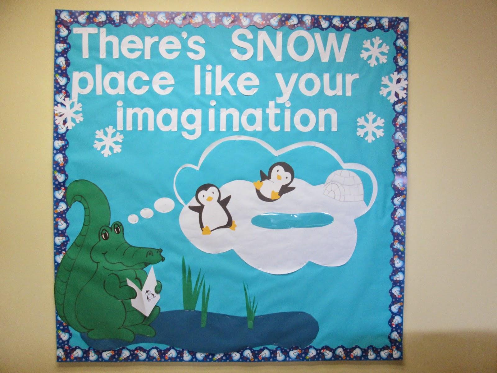 Winter bulletin boards ideas pinterest - School Library Media Center Bulletin Boards Check Bulletin Board Masterpost For More Bulletin Board Images