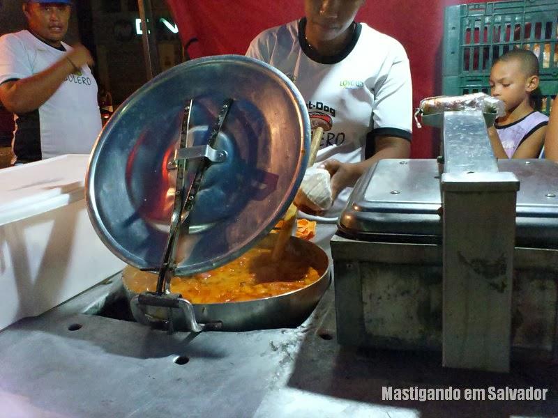 Hot-Dog do Bolero: Processo de preparação do Cachorro Quente