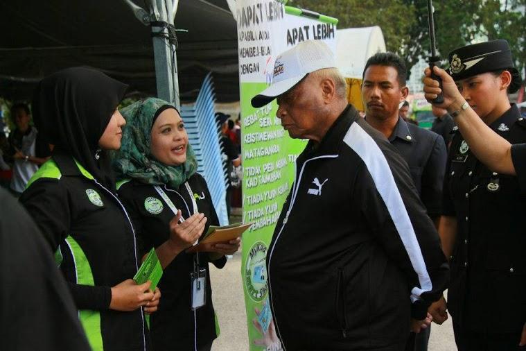 Jom Aktifkan Mykad sultan Pahang