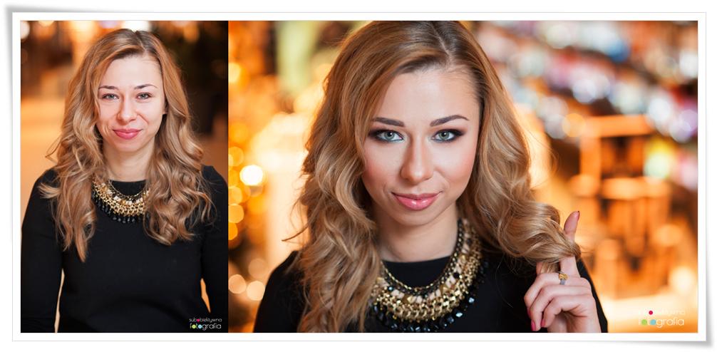 makijaż, metamorfoza, zmiana, stylizacja, przed i po, makeup, beauty, glamour