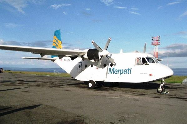 Cassa 212 Merpati Nusantara Airlines