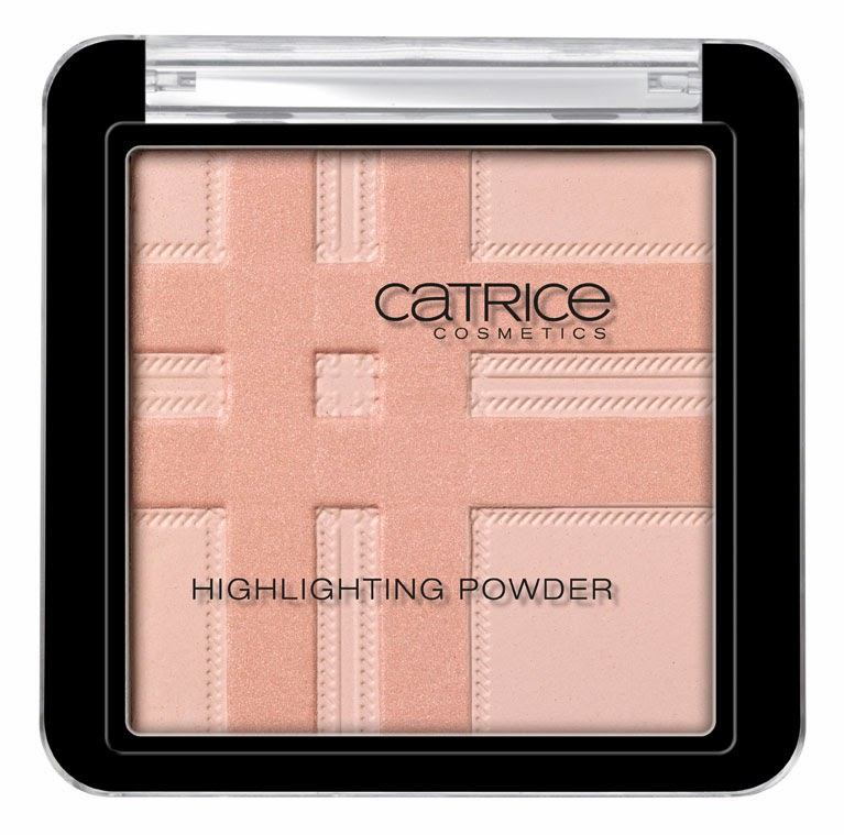 Catrice Check & Tweed Highlighting Powder Flagg The Union Jack