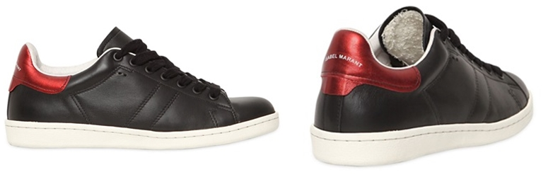 Isabel Marant Etoile Bart Sneakers black leather