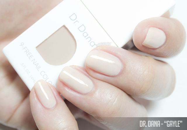 Dr. Dana Nail Color - Swatches and Spot Treatments