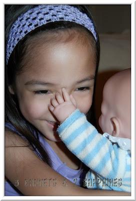 3 Garnets Amp 2 Sapphires The Delightful La Newborn Dolls