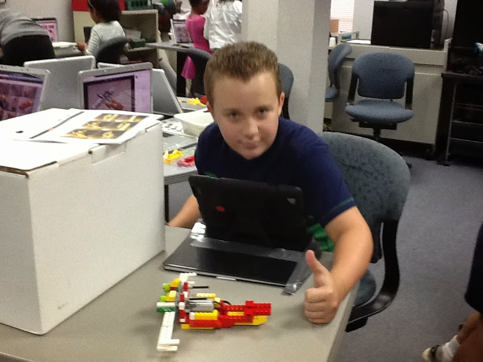 LEGO WeDo in the AT&T Classroom