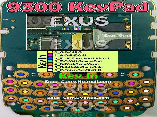 Jalur Keypad BB 9300