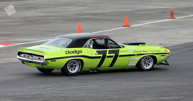 #77 Dodge Challenger Race Car