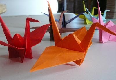 origami gru, Senbazuru