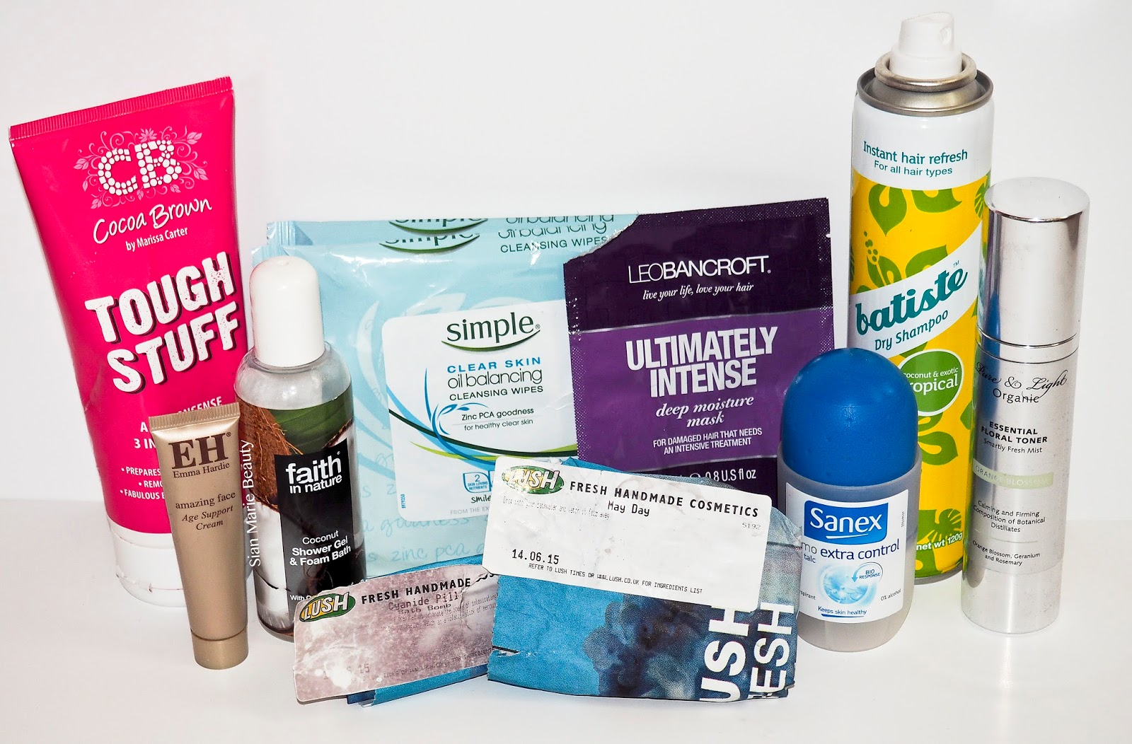 Sian Marie Beauty August 2015 Empties