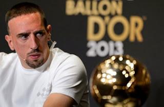 Ribery Galau Setelah Gagal Memenangi Ballon d'Or