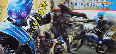 Kamen Rider Meteor Arrives!