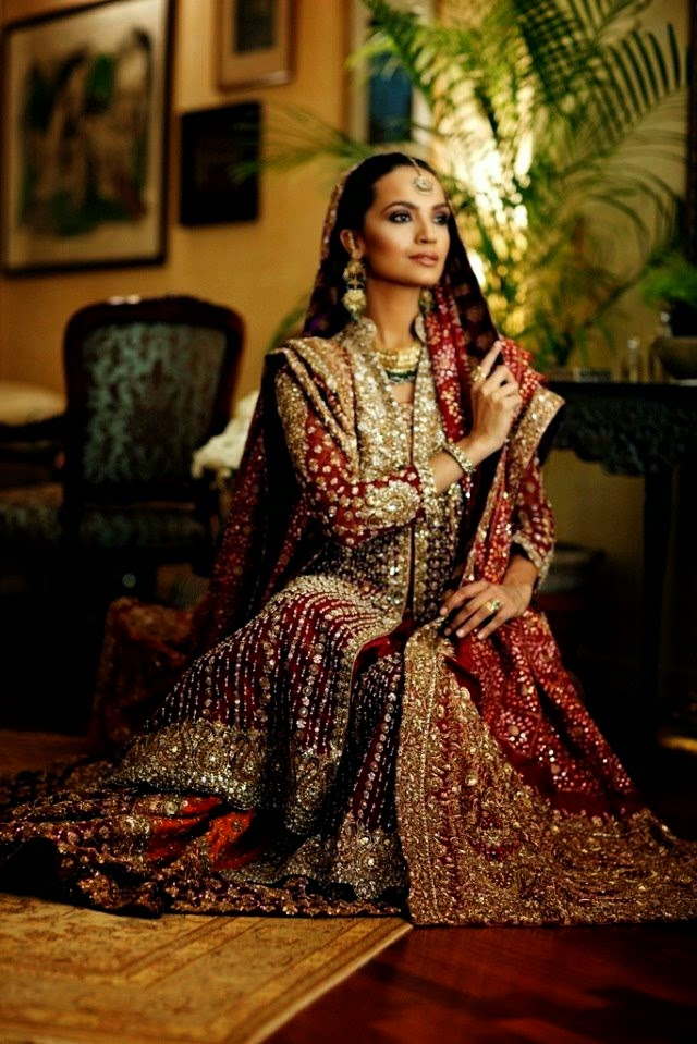 Bunto kazmi Wedding Dresses 2014