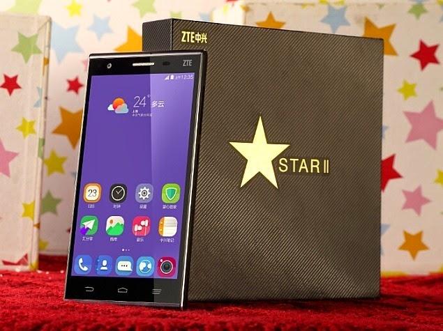 ZTE Star 2, Harga dan Spesifikasi HP Android Quad Core Kamera 13 Megapiksel