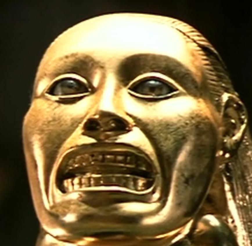 Inside The Chachapoyan Fertility Idol From Raiders Of The