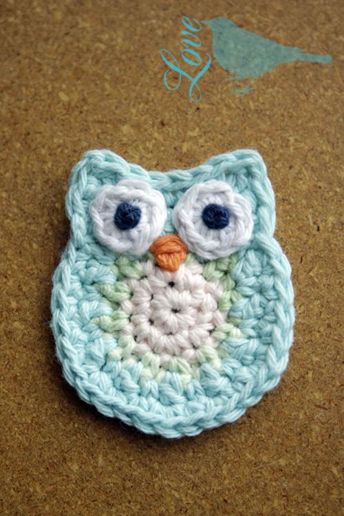 Love The Blue Bird Owl