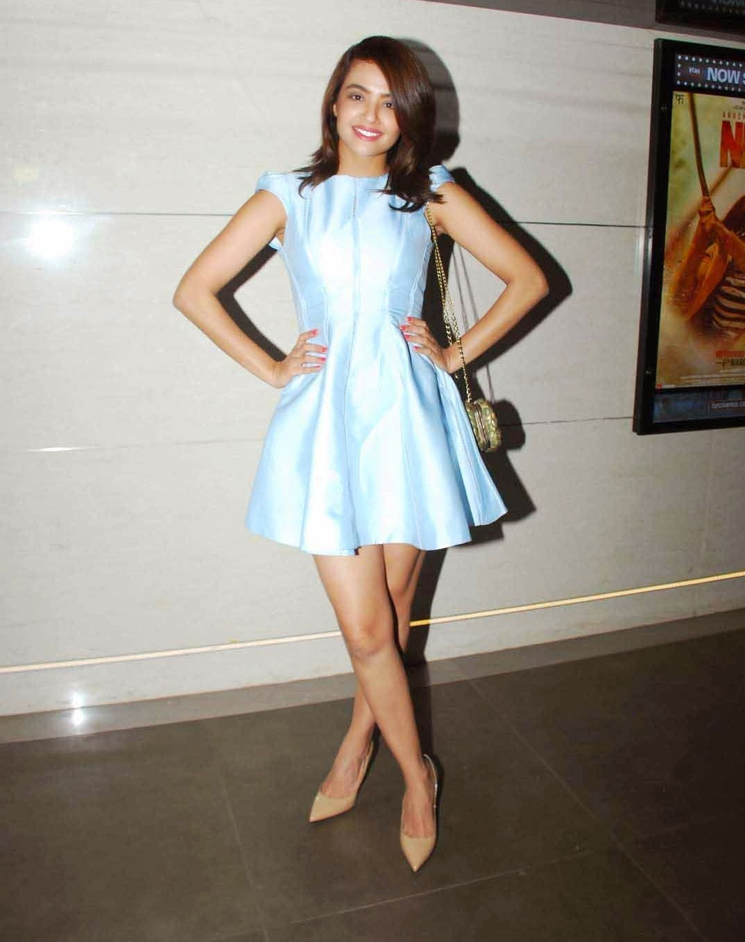 Surveen Chawla latest hot photos at Lakme Fashion Week 2015
