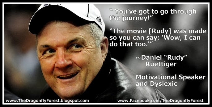 quotes from rudy ruettiger quotesgram