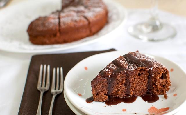 Ricetta Torta Cioccolato e Noci